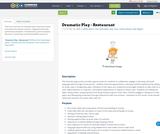 Dramatic Play - Restaurant