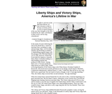 Liberty Ships and Victory Ships, America's Lifeline in War