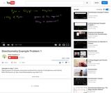 Physics: Stoichiometry Example Problem 1