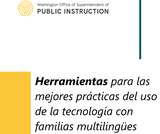 Best Practices for Using Technology with Multilingual Families Toolkit (Spanish)