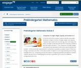 Prekindergarten Mathematics Module 4: Comparison of Length, Weight, Capacity, and Numbers to 5