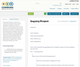 Inquiry Project