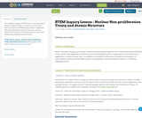 STEM Inquiry Lesson - Nuclear Non-proliferation Treaty and Atomic Structure