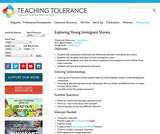 Exploring Young Immigrant Stories | Teaching Tolerance - Diversity, Equity and Justice