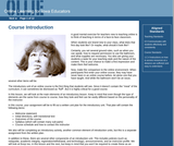 Online Learning: The Welcome and Introductory Unit