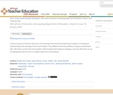 Wits School of Education and Gauteng Department of Education. Volume 2 Issue 1B January 2009
