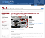 Health Information Technology Standards and Systems Interoperability