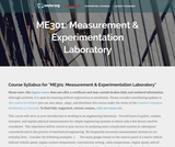 Measurement & Experimentation Laboratory