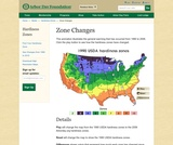Changes in Hardiness Zones