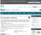 Young People's Wellbeing