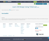 Learn 3D Design Using Tinkercad
