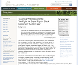 The Fight for Equal Rights: Black Soldiers in the Civil War
