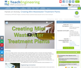 Creating Mini Wastewater Treatment Plants