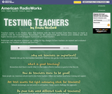 American RadioWorks: Testing Teachers