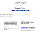 Ocean Voyagers Lesson Plans