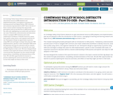 CONEWAGO VALLEY SCHOOL DISTRICT'S INTRODUCTION TO OER - Part I Remix