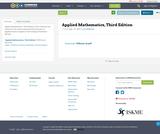 Applied Mathematics, Third Edition