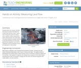 Measuring Lava Flow