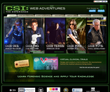 CSI: The Experience - Web Adventures