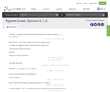 Algebra Lineal, Ejercicio 6.1, 2.