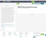 SDG 3.8: Universal health coverage