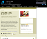 The Whole Child: A Caregivers Guide to the First Five Years