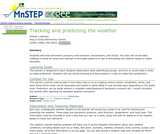 Tracking and predicting the weather