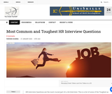 Most Common and Toughest HR Interview Questions