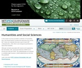 Introductory MIT Courses, Social Sciences