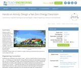 Design a Net-Zero Energy Classroom