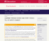 Grade 2: Language Arts: Module 2: Fossils Tell of Earth's Changes