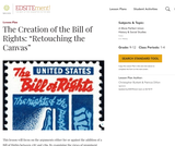 """The Creation of the Bill of Rights: """"Retouching the Canvas"""""""