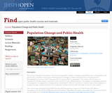 Population Change and Public Health