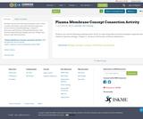 Plasma Membrane Concept Connection Activity