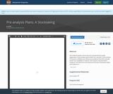 Pre-analysis Plans: A Stocktaking