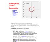 Eccentricity in Conics