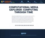 Computational Media Explorer: Computing Through Time (Grades K-2)