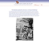 """""""The Bostonians paying the excise-man, or tarring and feathering."""""""