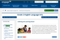 Common Core Curriculum Grade 2 ELA: Listening and Learning Strand