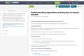 Understanding algorithms and big data in the job market