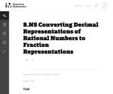 Converting Decimal Representations of Rational Numbers to Fraction Rep