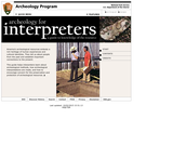 Archeology for Interpreters, A Guide to the Knowledge of the Resource