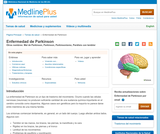 Parkinson's Disease (Spanish)