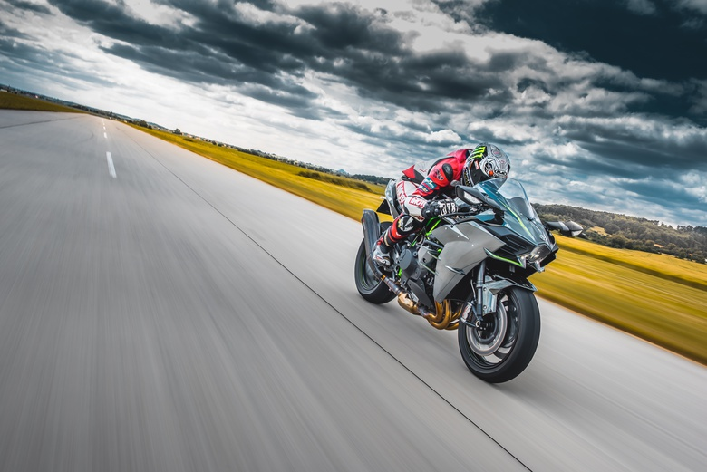 Electric Motorcycle Race