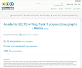 Academic IELTS writing Task 1 course (Line graph) - Remix