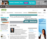 ASCD Common Core 101 Webinar