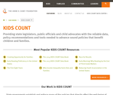1999 KIDS COUNT Data Book