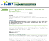 Investigating Matter: Identifying Properties and States of Matter