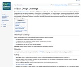 ISKME's Science, Technology, Engineering, Arts, and Mathematice (STEAM) Design Challenge