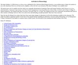 Activities in Meteorology